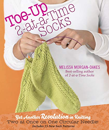 9781603425339: Toe-Up 2-at-a-Time Socks