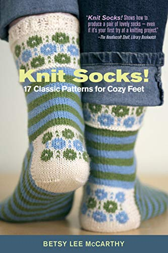 9781603425490: Knit Socks: 17 Classic Patterns for Cozy Feet