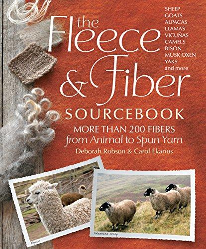 9781603427111: The Fleece & Fiber Sourcebook: More Than 200 Fibers from Animal to Spun Yarn