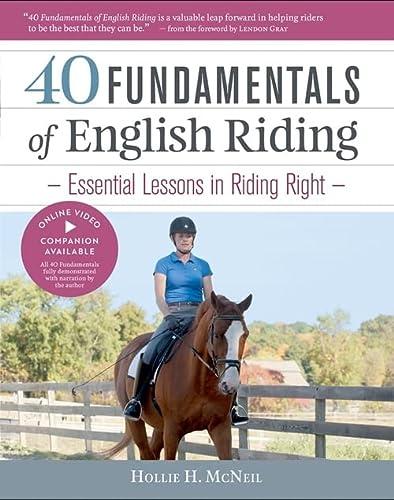 40 FUNDAMENTALS OF ENGLISH RIDING-HC Format: Hardcover