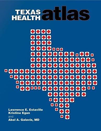 9781603445795: Texas Health Atlas