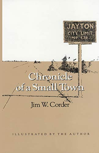 9781603449885: Chronicle of a Small Town (Wardlaw Books)