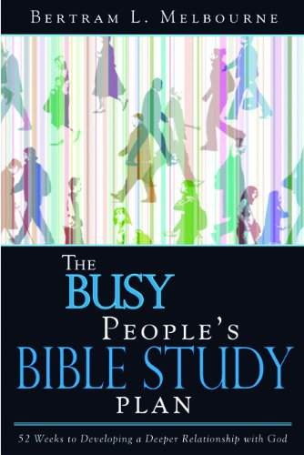 9781603520676: The Busy People Bible Study Plan: Strategies for Personal Time with God Amidst Life's Hectic Pace