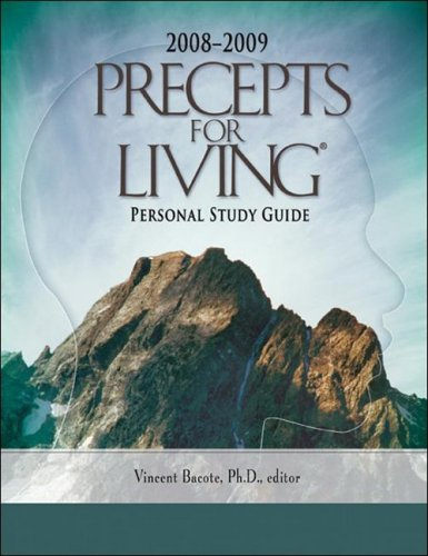 9781603523318: Precepts for Living Personal Study Guide