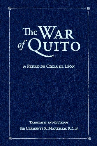 9781603550888: The War of Quito