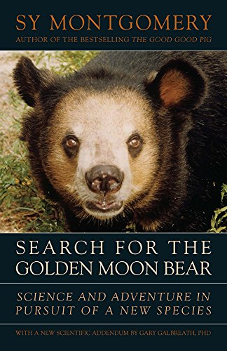 9781603580632: Search for the Golden Moon Bear: Science and Adventure in Pursuit of a New Species