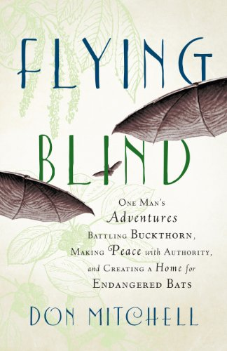 9781603585200: Flying Blind: One Man's Adventures Battling Buckthorn, Making Peace with Authority, and Creating a Home for Endangered Bats