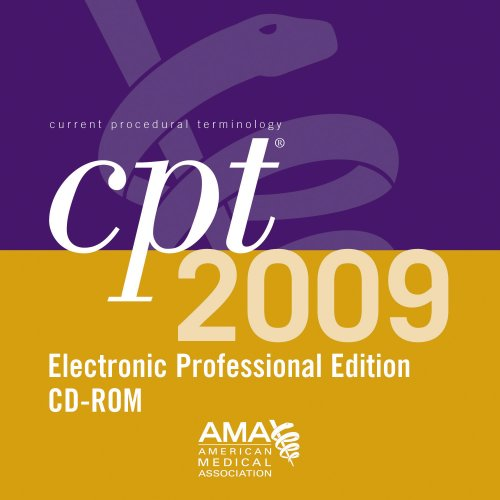 CPT 2009 Electronic Professional: Single User (1603590609) by American Medical Association