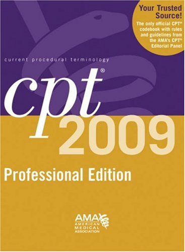 9781603590648: CPT 2009 Professional Edition (Current Procedural Terminology, Professional Ed.
