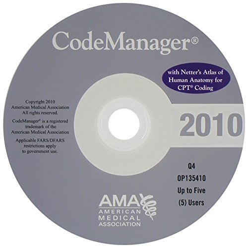 9781603591744: CodeManager 2011 with Netter's Atlas of Human Anatomy for CPT Coding: 2-5 Users