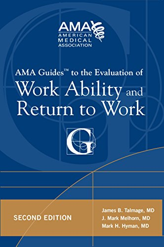 AMA Guide to the Evaluation of Work