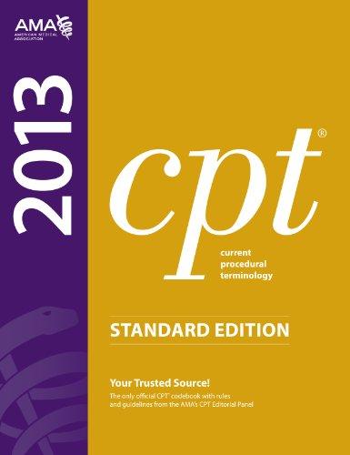 9781603596831: CPT 2013 Standard Edition (Current Procedural Terminology (Standard)) (Current Procedural Terminology (CPT) Standard)