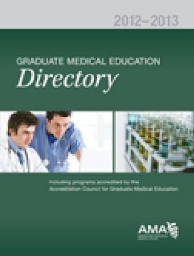 Graduate Medical Education Directory: Fred Donini-Lenoff
