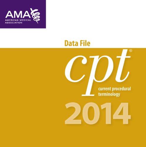 Cpt 2014 Data File 2014: Single User: American Medical Association