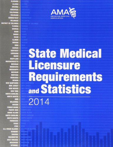 9781603598972: State Medical Licensure Requirements and Statistics 2014