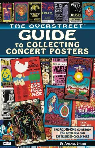 9781603602013: The Overstreet Guide to Collecting Concert Posters