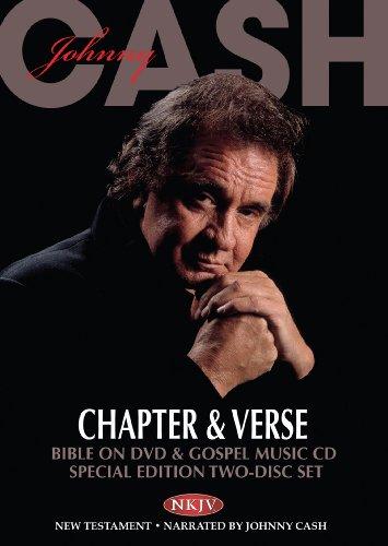 9781603620680: Johnny Cash - Chapter & Verse - Bible on DVD & Gospel Music CD - Special Edition (CD/DVD Set)