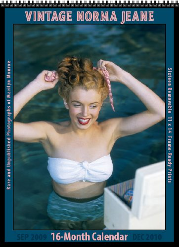 9781603683845: Vintage Norma Jeane 2010 16-Month Marilyn Monroe Calendar