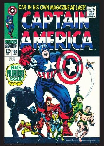 9781603684132: Captain America #100: Vintage Marvel Posters