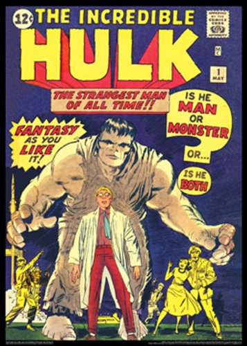 The Hulk #1: Vintage Marvel Poster Series