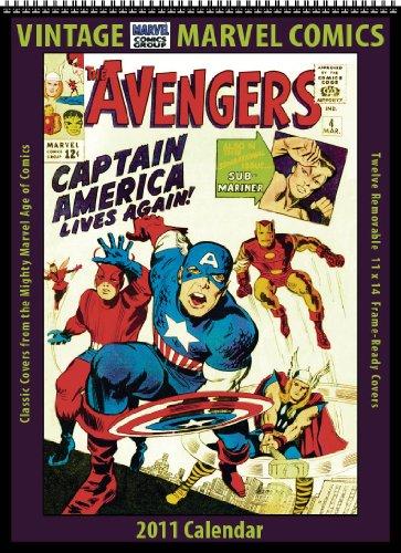 9781603685320: Marvel Comics 2011 Vintage Calendar