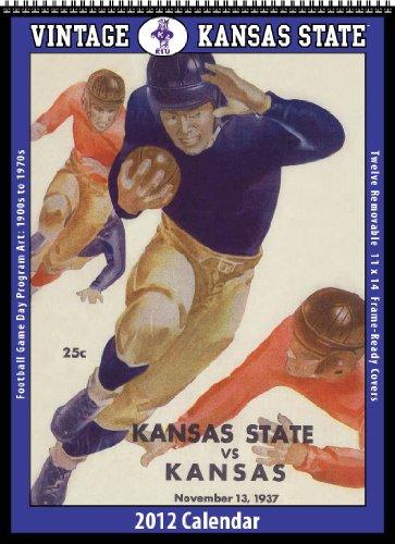 9781603685795: Kansas State Wildcats 2012 Vintage Football Calendar