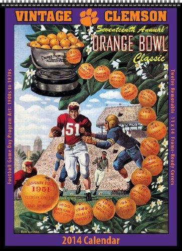 9781603688239: Clemson Tigers 2014 Vintage Football Calendar