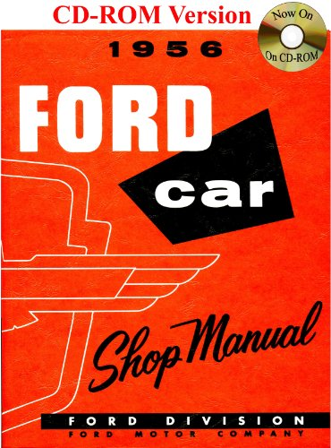 9781603710060: 1956 Ford Car Shop Manual
