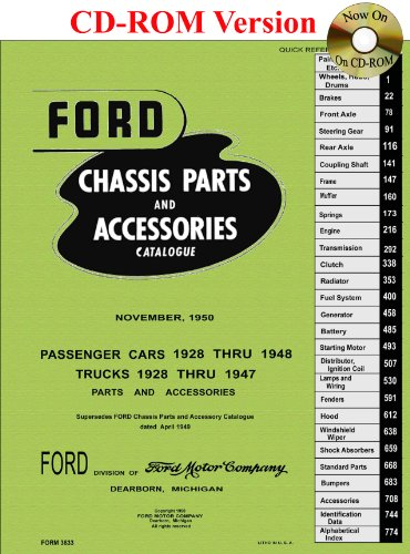 9781603710237: 1928 thru 1948 Ford Chassis Parts and Accessory Catalogue