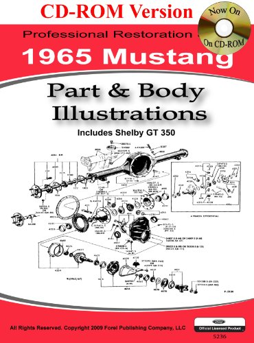 9781603710244  1965 Colorized Mustang Wiring Diagrams - Abebooks
