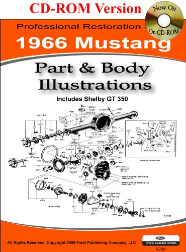 1966 Colorized Mustang Wiring Diagrams: David E. LeBlanc