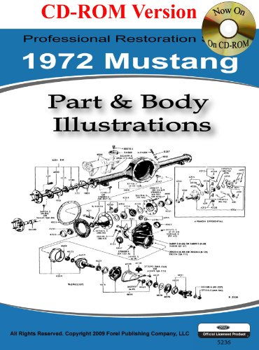 9781603710404: 1972 Mustang Part and Body Illustrations