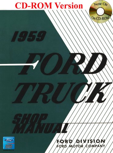 9781603710688: 1959 Ford Truck Shop Manual