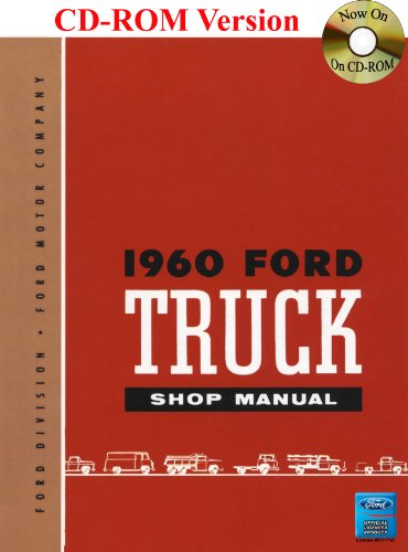 9781603710695: 1960 Ford Truck Shop Manual