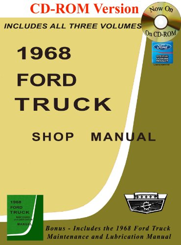 1968 Ford Truck Shop Manual: Ford Motor Company