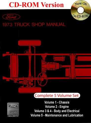1973 Ford Truck Shop Manual: Company, Ford Motor