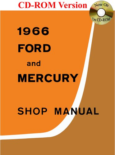 9781603710909: 1966 Ford and Mercury Shop Manual