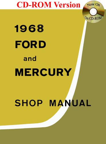 9781603710923: 1968 Ford and Mercury Shop Manual
