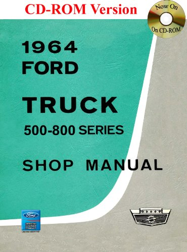 9781603711845: 1964 Ford Truck Shop Manual (500-800 Series)
