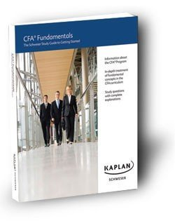 9781603730945: CFA Fundamentals: The Kaplan Schweser Study