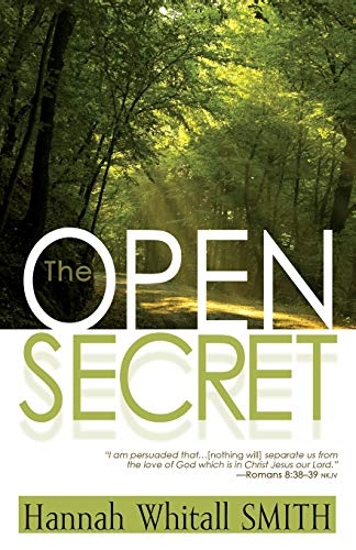 9781603745734: The Open Secret