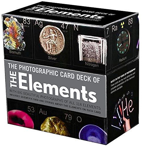 9781603761987: Photographic Card Deck of The Elements: With Big Beautiful Photographs of All 118 Elements in the Periodic Table