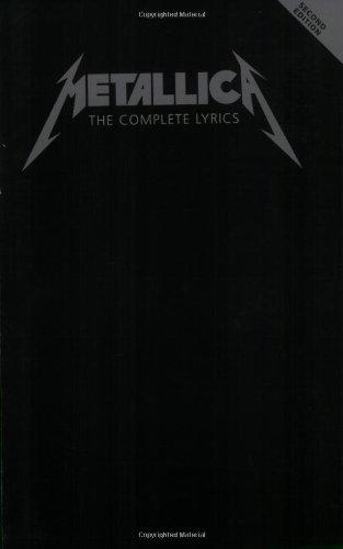 9781603780865: Metallica - The Complete Lyrics: Second Edition