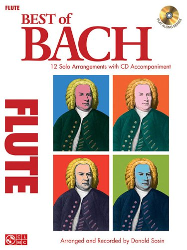 9781603781282: Best Of Bach Solo Flute Book/Cd