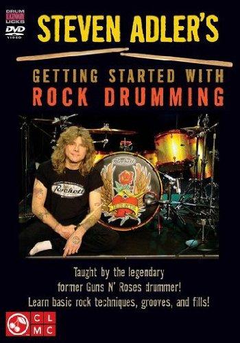 9781603781473: Adler Steve Gettng Started Drums DVD
