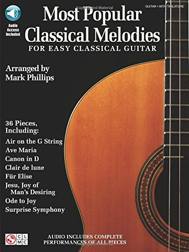 9781603781480: Most Popular Classical Melodies Guitare +Enregistrements Online