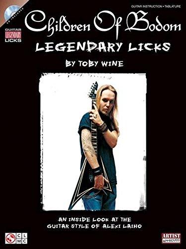 9781603781947: Children of Bodom - Legendary Licks Guitare +CD (Book & CD)