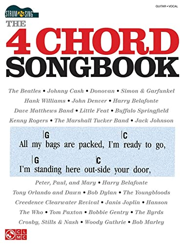 The 4 Chord Songbook: Strum Sing Series (Paperback)
