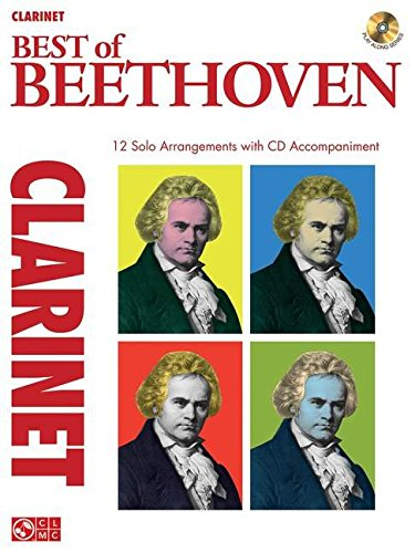 9781603782661: Best of beethoven - clarinet clarinette+CD (Instrumental Play-Along)