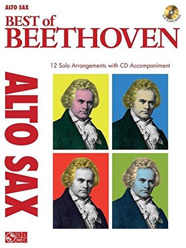 9781603782685: Best of beethoven - alto saxophone saxophone+CD (Instrumental Play-Along)